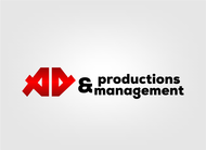 Corporate Logo Design 'AD Productions & Management' - Entry #33