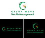 Green Wave Wealth Management Logo - Entry #127