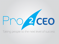 PRO2CEO Personal/Professional Development Company  Logo - Entry #113