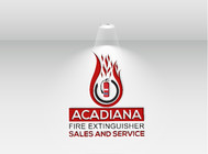 Acadiana Fire Extinguisher Sales and Service Logo - Entry #190
