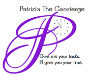 Patrizia The Concierge Logo - Entry #76