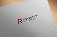 Revolution Fence Co. Logo - Entry #384