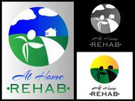 At Home Rehab Logo - Entry #69