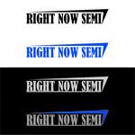 Right Now Semi Logo - Entry #42