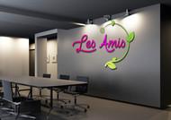 Les Amis Logo - Entry #27