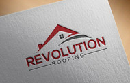 Revolution Roofing Logo - Entry #187