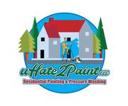 uHate2Paint LLC Logo - Entry #36