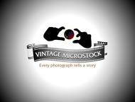 Vintage Microstock Logo - Entry #40