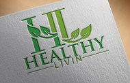 Healthy Livin Logo - Entry #445