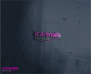 icarenails Logo - Entry #2