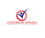 LiveDream Apparel Logo - Entry #298