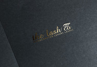 the lash co. Logo - Entry #115