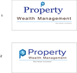 Property Wealth Management Logo - Entry #185