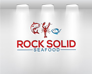 Rock Solid Seafood Logo - Entry #114