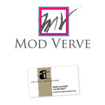 Fashionable logo for a line of upscale contemporary women's apparel  - Entry #26