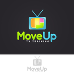 Move Up TV Training  Logo - Entry #101