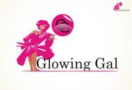 Glowing Gal Logo - Entry #3