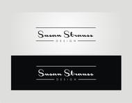 Susan Strauss Design Logo - Entry #15