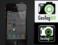 Android/iOS GPS/Photo tagging App Icon Logo - Entry #56