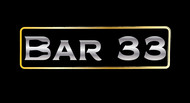 Bar 33 Logo - Entry #43
