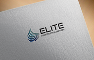Elite Construction Services or ECS Logo - Entry #113