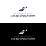 Sapphire Shades and Shutters Logo - Entry #168