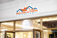 Revolution Roofing Logo - Entry #251