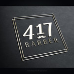 417 Barber Logo - Entry #23