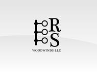 Woodwind repair business logo: R S Woodwinds, llc - Entry #74