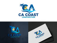 CA Coast Construction Logo - Entry #110