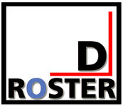 DRoster Logo - Entry #91