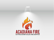 Acadiana Fire Extinguisher Sales and Service Logo - Entry #43