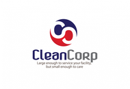 B2B Cleaning Janitorial services Logo - Entry #69