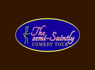 The Semi-Saintly Comedy Tour Logo - Entry #48