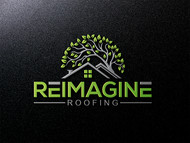 Reimagine Roofing Logo - Entry #150
