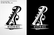 Woodwind repair business logo: R S Woodwinds, llc - Entry #111