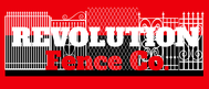 Revolution Fence Co. Logo - Entry #6