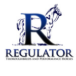 Regulator Thouroughbreds and Performance Horses  Logo - Entry #65