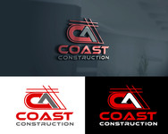 CA Coast Construction Logo - Entry #17
