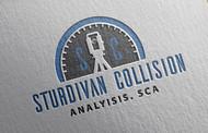 Sturdivan Collision Analyisis.  SCA Logo - Entry #121