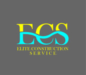 Elite Construction Services or ECS Logo - Entry #276