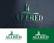 ALLRED WEALTH MANAGEMENT Logo - Entry #607