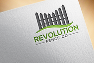 Revolution Fence Co. Logo - Entry #91