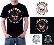 Mayhem Fight Gear.com Logo - Entry #35