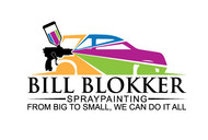 Bill Blokker Spraypainting Logo - Entry #129