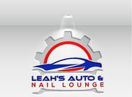 Leah's auto & nail lounge Logo - Entry #151