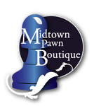 Either Midtown Pawn Boutique or just Pawn Boutique Logo - Entry #18