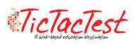 TicTacTest Logo - Entry #9