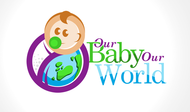 Logo for our Baby product store - Our Baby Our World - Entry #69