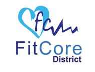 FitCore District Logo - Entry #77